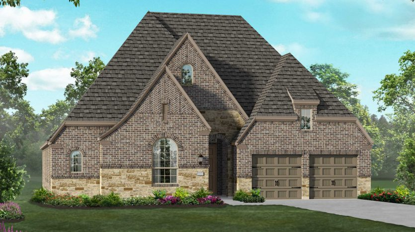 Highland Homes Union Park: 60ft. lots subdivision 7025 Cross Point Lane Aubrey TX 76227