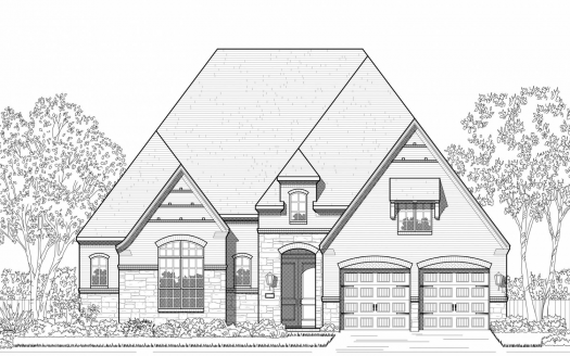Highland Homes Hollyhock: 65ft. lots subdivision  Frisco TX 75033