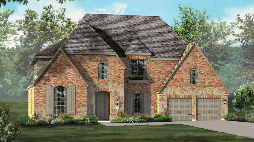 Highland Homes Edgestone at Legacy subdivision  Frisco TX 75034
