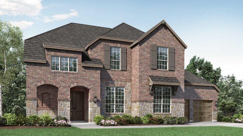 Highland Homes Wildridge:Wildridge: 70ft. lots subdivision  Oak Point TX 75068