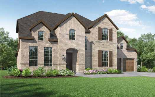 Highland Homes Hollyhock: 74ft. lots subdivision  Frisco TX 75033