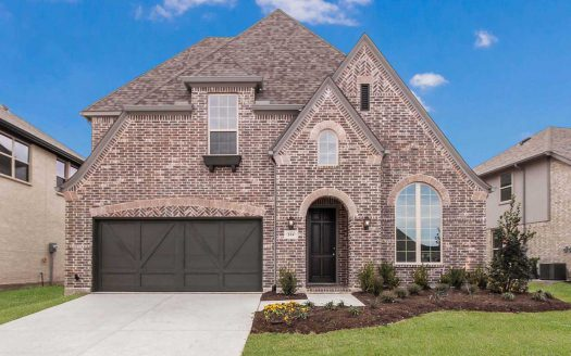 Highland Homes Union Park: 50ft. lots subdivision 804 Pier Street Aubrey TX 76227