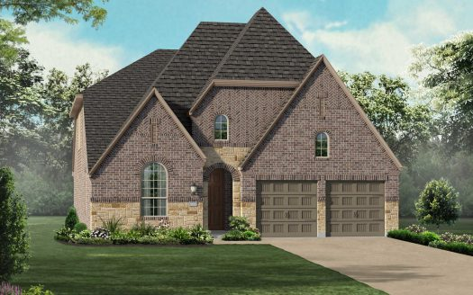 Highland Homes Union Park: 50ft. lots subdivision 7005 Spring Park Drive Aubrey TX 76227