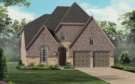 Highland Homes Union Park: 50ft. lots subdivision 7005 Spring Park Drive Aubrey TX 76227