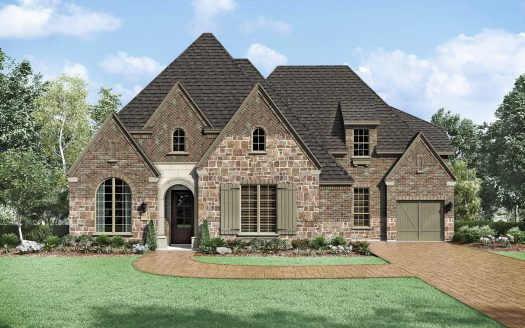 Huntington Homes Edgestone at Legacy 90s subdivision  Frisco TX 75034
