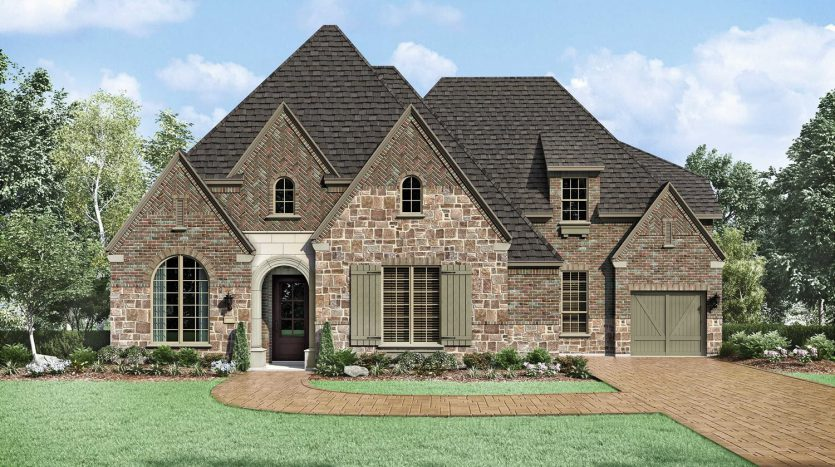 Huntington Homes Edgestone at Legacy 90s subdivision  Frisco TX 75034