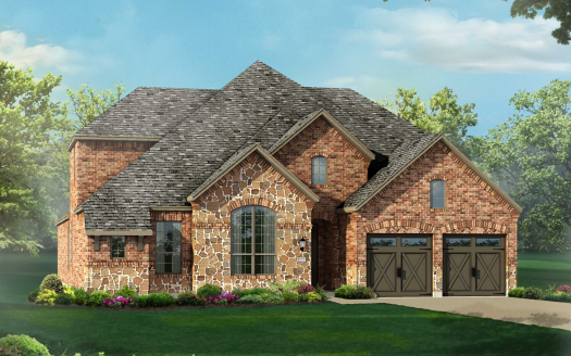 Highland Homes Canyon Falls: Silverleaf subdivision  Argyle TX 76226