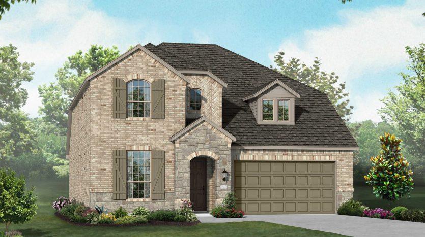 Highland Homes Paloma Creek subdivision  Little Elm TX 75068