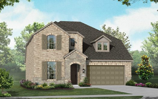 Highland Homes Wildridge:Wildridge: Artisan Series - 50ft. lots subdivision  Oak Point TX 75068