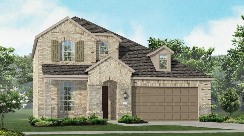 Highland Homes Arrowbrooke: 50ft. lots subdivision  Aubrey TX 76227
