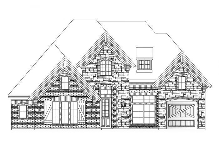 Grand Homes Wilmeth Ridge subdivision  McKinney TX 75071