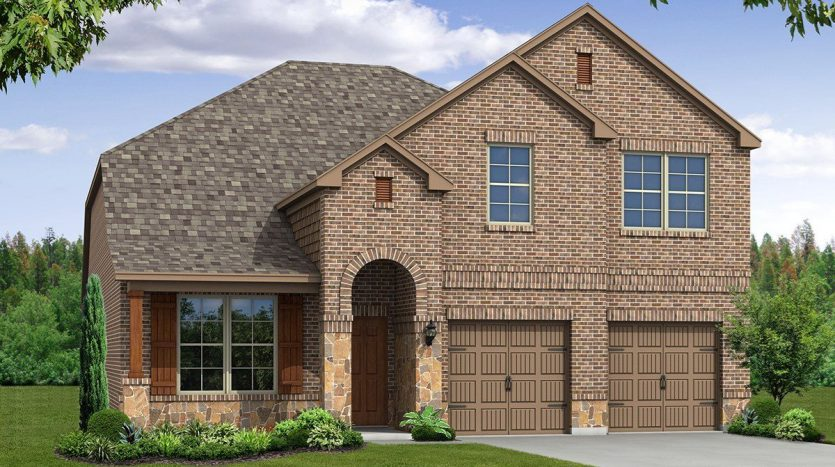 Beazer Homes Devonshire subdivision  Forney TX 75126