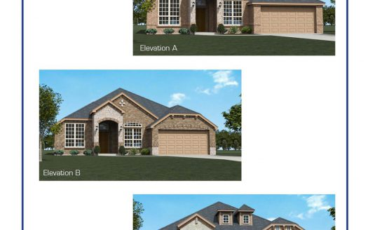 Altura Homes Hunter Lakes subdivision  McKinney TX 75071