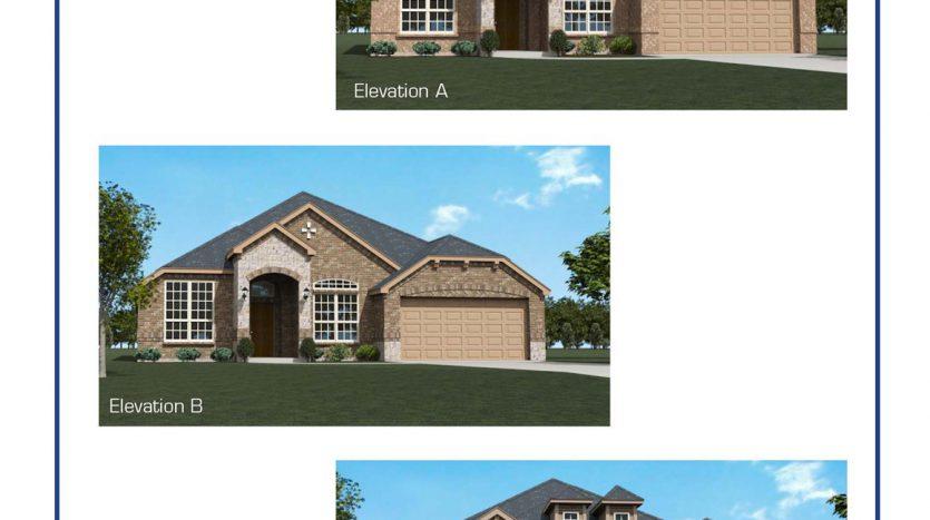Altura Homes Hunter Lakes subdivision  McKinney TX 75071