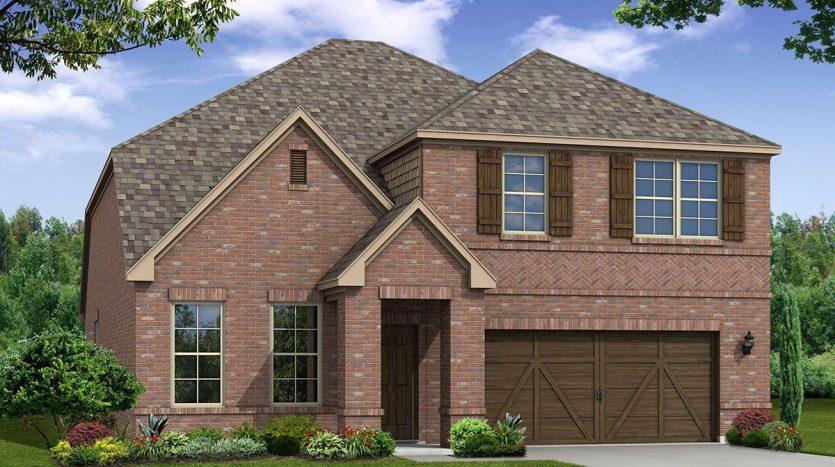 Beazer Homes Sutton Fields subdivision  Celina TX 75009