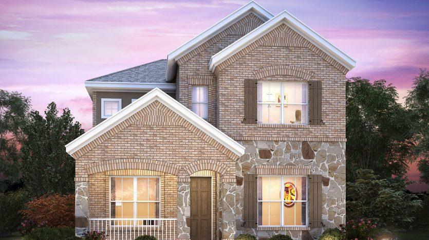 M/I Homes Majestic Gardens subdivision  Frisco TX 75034