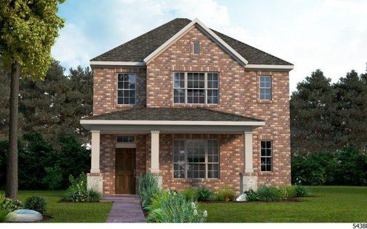 David Weekley Homes Harvest Townside subdivision  Argyle TX 76226