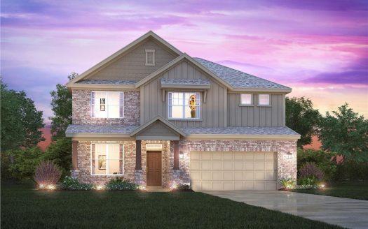 M/I Homes Bluewood subdivision  Celina TX 75009