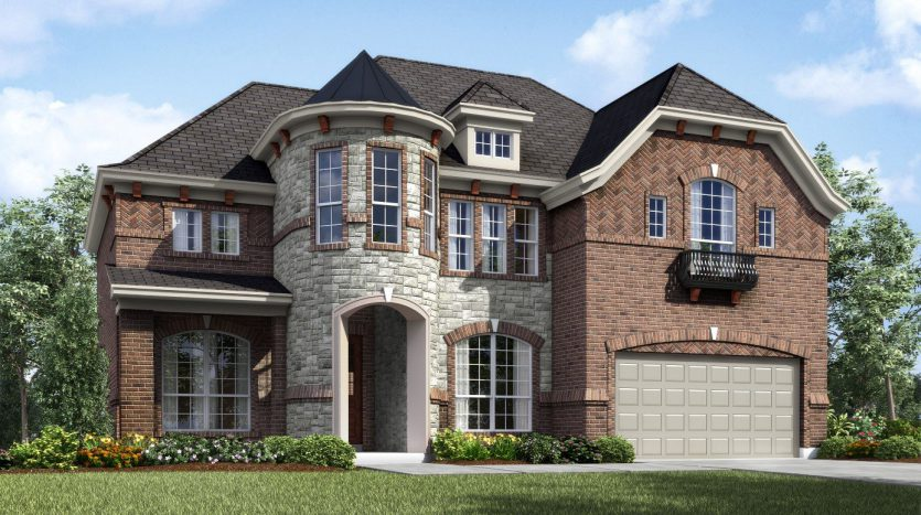 Landon Homes Lexington Country Classic Series subdivision  Frisco TX 75035