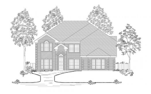 First Texas Homes La Jolla subdivision  Grand Prairie TX 75054