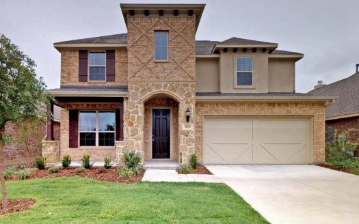 Redwood Plan Gehan Homes 4 Bedrooms 3 5 Baths 2810 Sqft