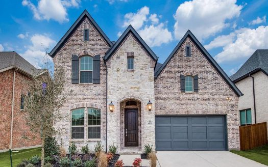 Shaddock Homes Estates at Shaddock Park subdivision  Frisco TX 75035