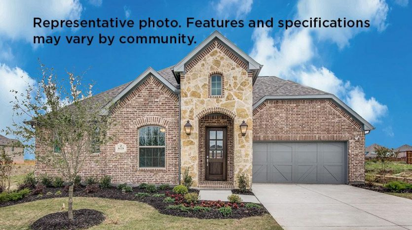 Saxony by Shaddock Homes Wilmeth Ridge subdivision  McKinney TX 75071