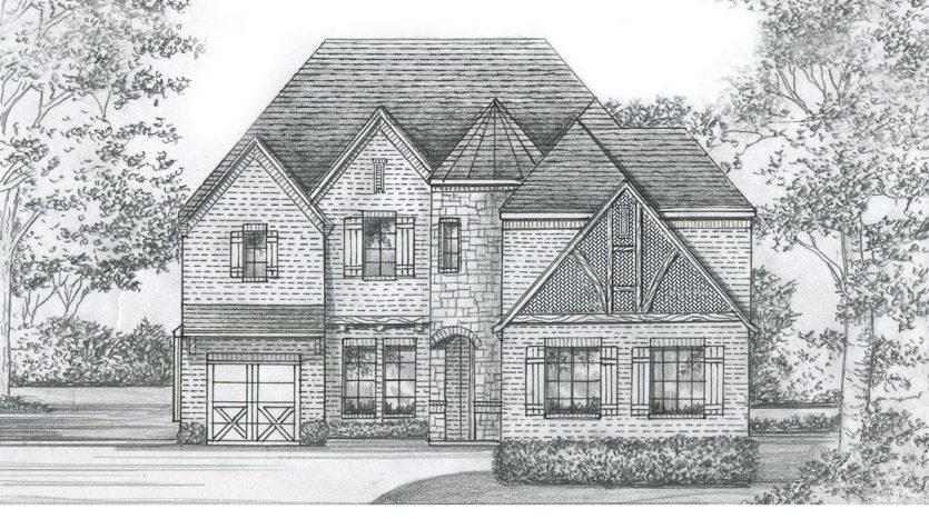 Shaddock Homes Lexington Country subdivision  Frisco TX 75035