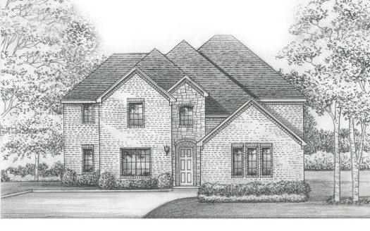 Saxony by Shaddock Homes Wilmeth Ridge subdivision  McKinney TX 75071