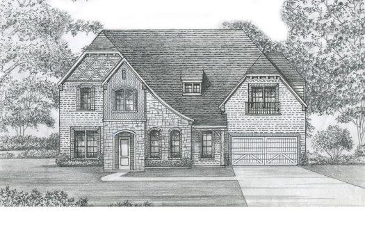 Shaddock Homes Edgestone at Legacy subdivision  Frisco TX 75034