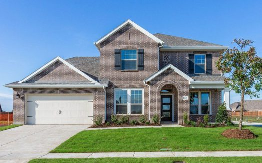 David Weekley Homes Gateway Parks Classic subdivision  Forney TX 75126