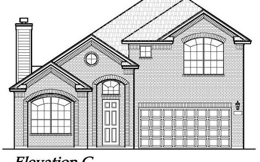 Chesmar Homes Dallas Savannah - Signature Series subdivision  Aubrey TX 76227