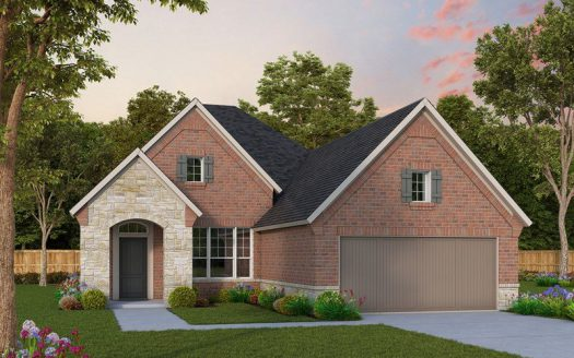 David Weekley Homes Prairie Oaks subdivision 9509 Blue Stem Lane Aubrey TX 76227