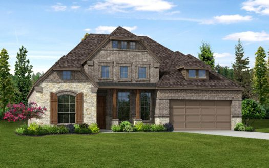 Trendmaker Homes The Vineyards subdivision  Rowlett TX 75088