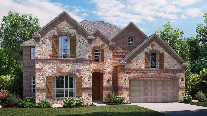 Lennar Hills of Crown Ridge subdivision  Frisco TX 75035