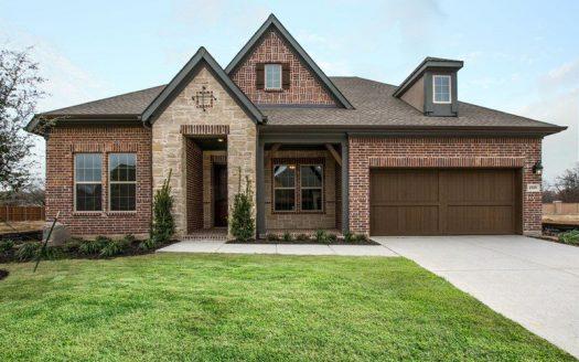 David Weekley Homes Highland Court Executive subdivision  Flower Mound TX 75028