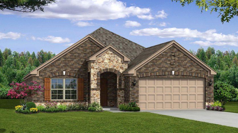 Beazer Homes North Creek subdivision  Melissa TX 75454