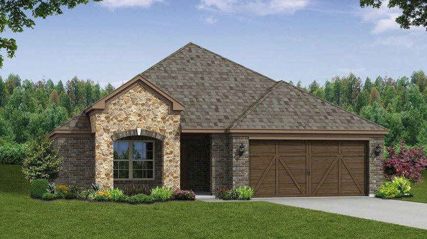 Beazer Homes Valencia on the Lake subdivision  Little Elm TX 75068