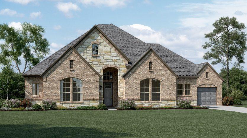 K. Hovnanian® Homes Bluff Creek Estates subdivision  Murphy TX 75094