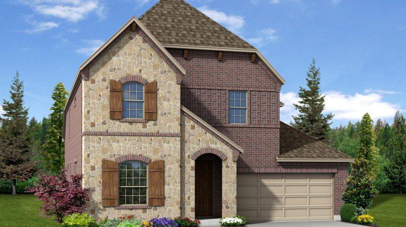 Trendmaker Homes The Vineyards subdivision  Rowlett TX 75088