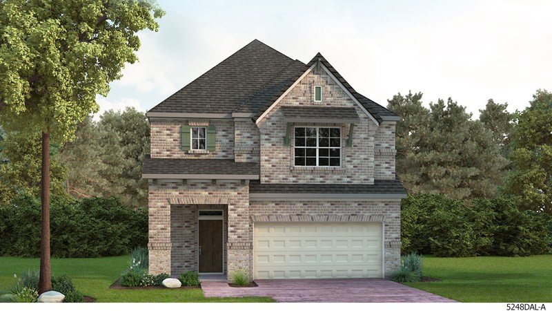 David Weekley Homes The Terraces of Las Colinas subdivision  Irving TX 75063