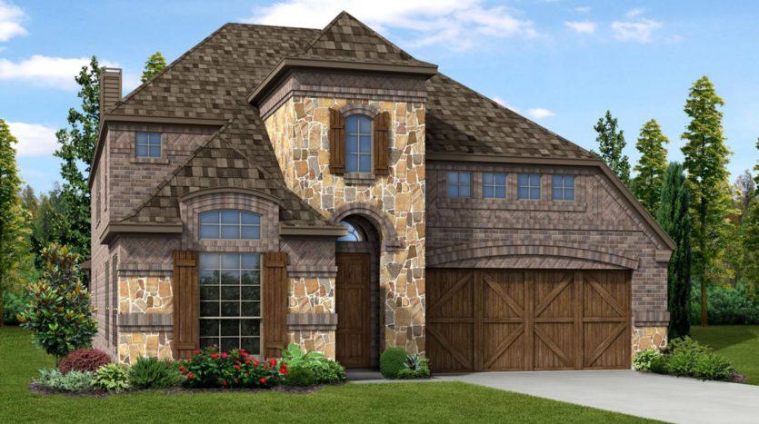 Trendmaker Homes Glen View subdivision  Frisco TX 75033
