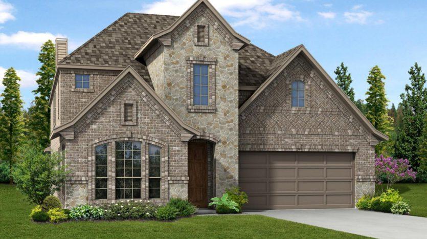 Trendmaker Homes Villages of Carmel subdivision  Denton TX 76208