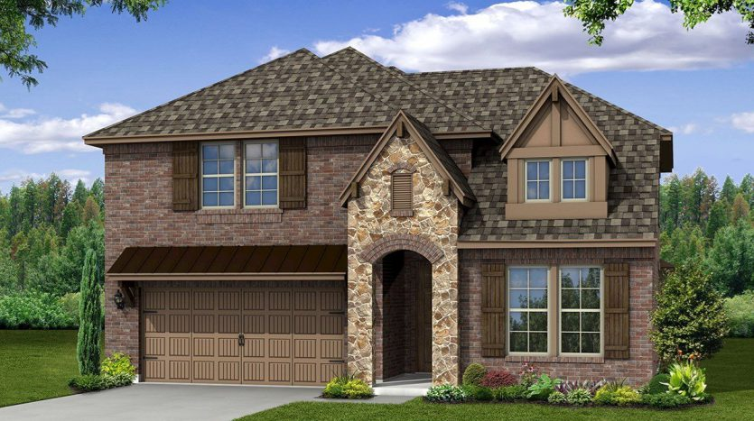 Beazer Homes The Grove at Craig Ranch subdivision  McKinney TX 75070