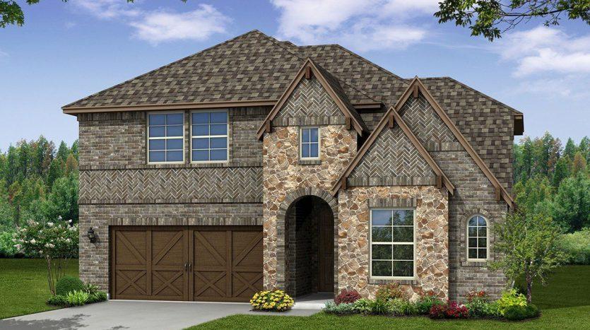 Beazer Homes University Place subdivision  Dallas TX 75252