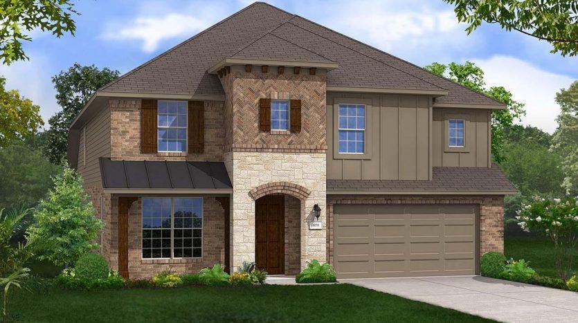 Gehan Homes Gateway Parks - Premier 50' Lots subdivision  Forney TX 75126