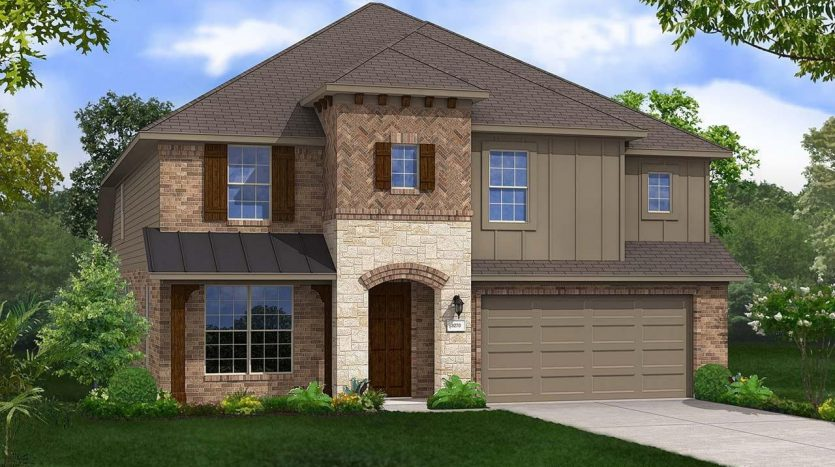 Gehan Homes Lakeside Estates at Paloma subdivision  Little Elm TX 75068