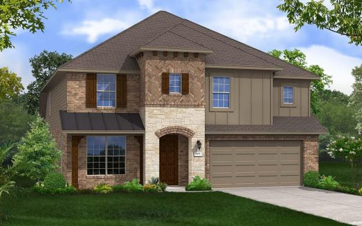Gehan Homes The Vineyards subdivision  McKinney TX 75070