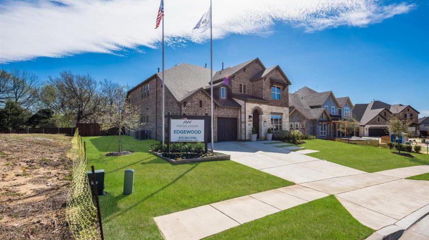 Ashton Woods Edgewood subdivision  Flower Mound TX 75028