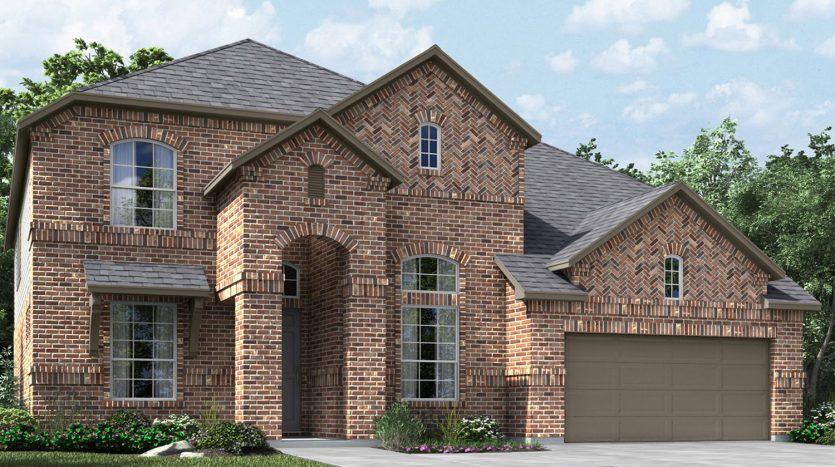 Meritage Homes Auburn Hills subdivision  McKinney TX 75071